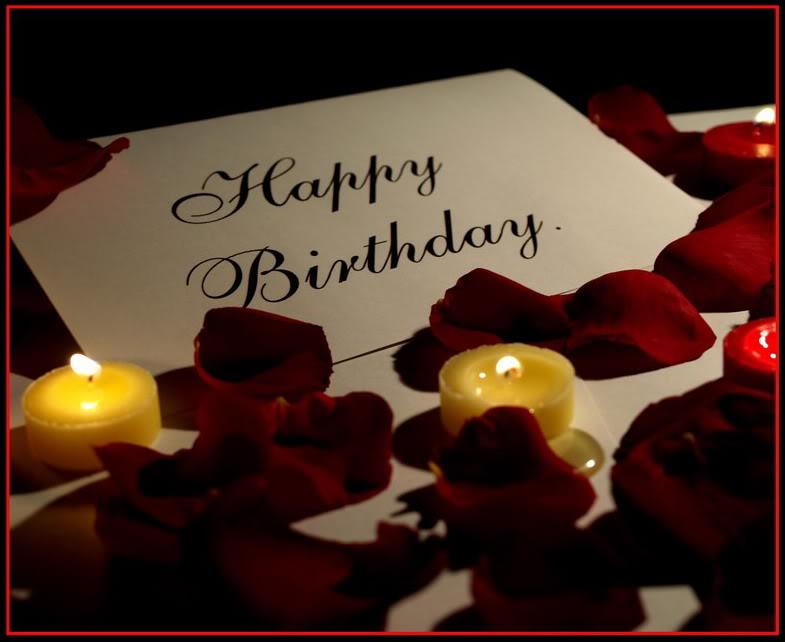 Романтичные поздравления с днем рождения парню